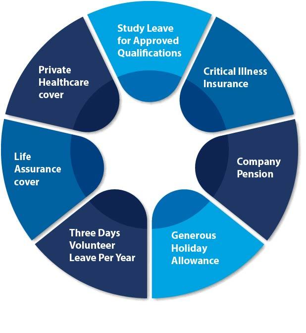 Benefits Infographic diagram