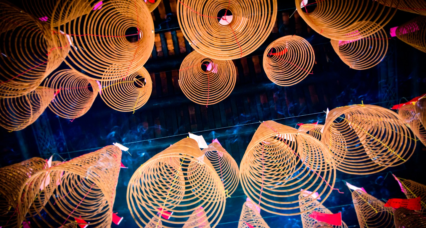 Coiled lights