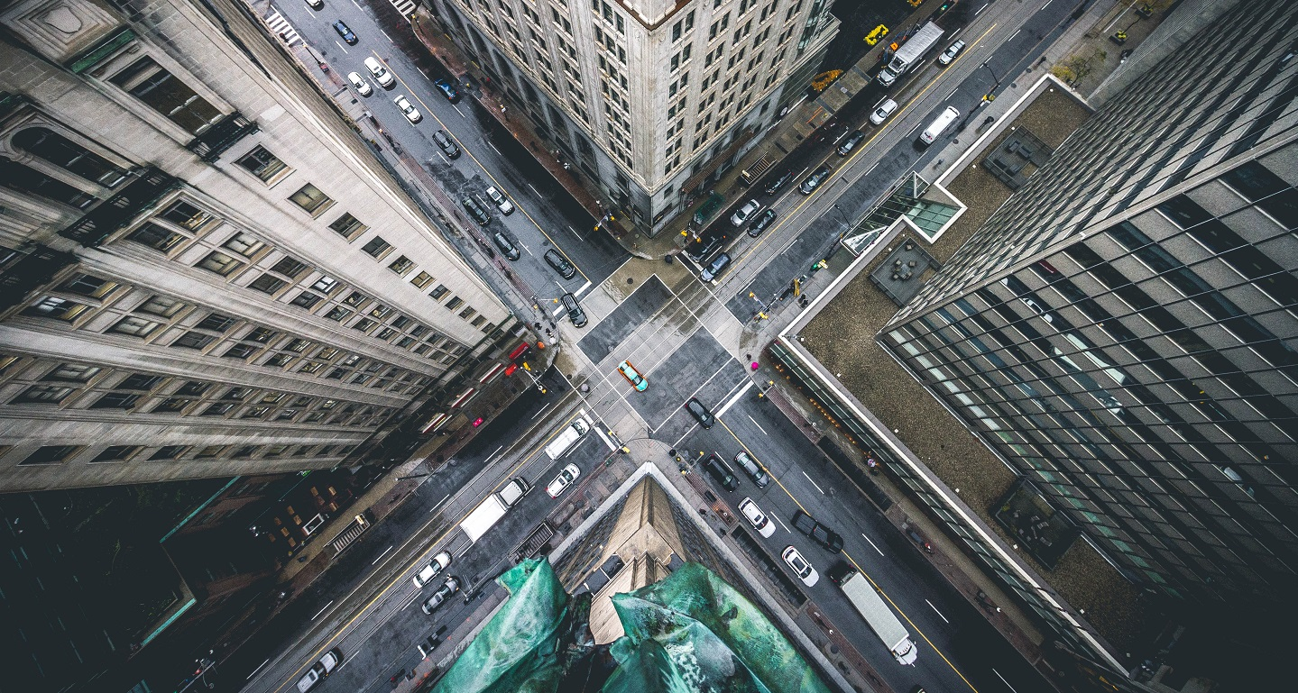 City intersection