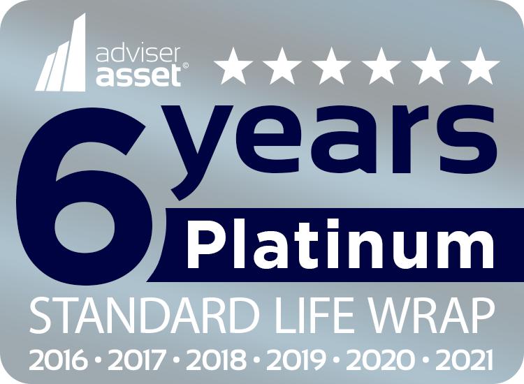 adviser asset 6 years platinum Wrap award