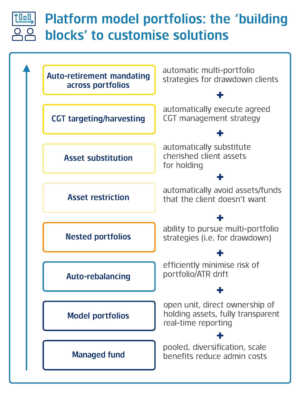 Platform portfolio model diagram