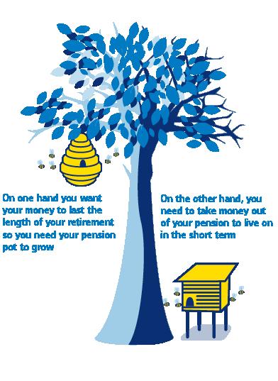 flexible income illustration