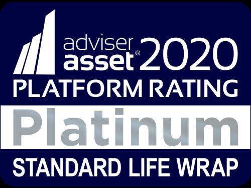 Adviser Asset Platform Award logo 2020