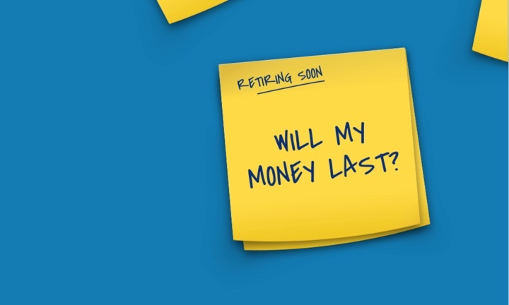 Will my money last? Post-it notes