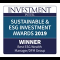 Investment week award winner